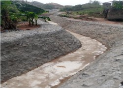 Dhaxle CONSTRUCTION OF PERMANENT EROSION CONTROL AT KP 46 EWUPE COMMUNITY-OGUN STATE