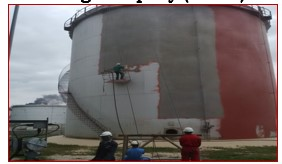 Dhaxle COMPLETE RE-CONSTRUCTION OF COLLAPSED STORAGE TANK AT PORT-HARCOURT REFINERY –NNPC