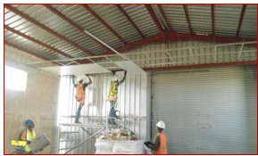 Dhaxle CONSTRUCTION OF LOADING BAY SHED - British American Tobacco –Ibadan.