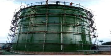 Dhaxle QAQC INSPECTION ON THE CONSTRUCTION OF 20,000 BOPD CRUDE OIL TANK - PLAFORM PETROLEUM LTD