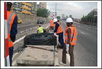 Dhaxle Fiber Construction Work VI to Ajah