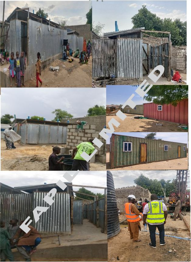 Dhaxle Gender Segregated Latrine and Showers