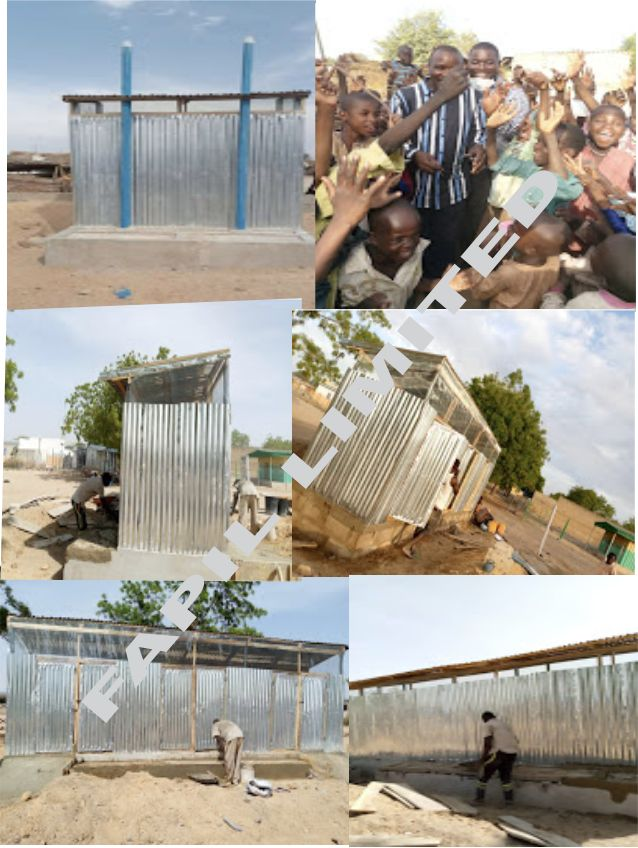 Dhaxle Gender Segregated Latrine and Showers in IDP's