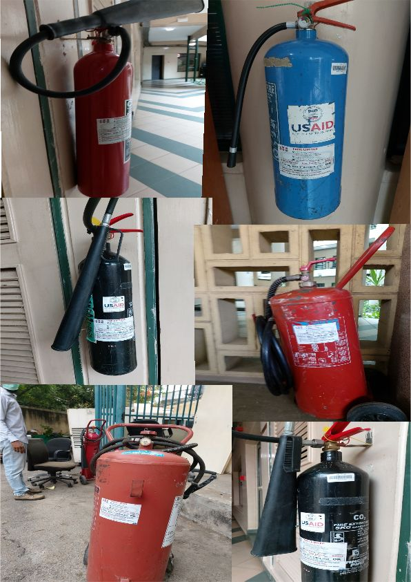 Dhaxle Servicing of USAID Extinguishers