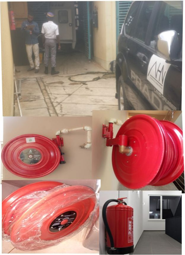Dhaxle AHNi/FHI360 Extinguishers and Installation of Fire Hydrant Hose