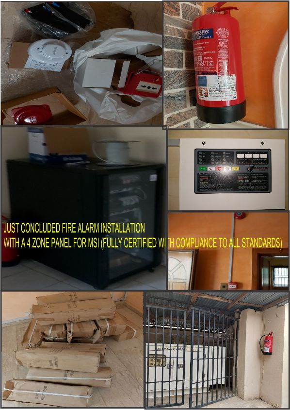 Dhaxle Installation of Fire Alarm System